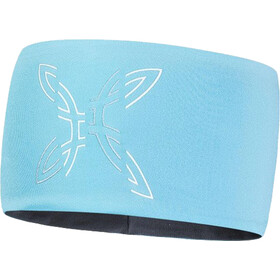 Montura Segment Light Headband ice bluee/piombo